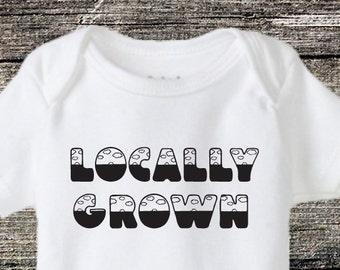 Newborn (0-3 Months) Locally Grown Baby Onesie