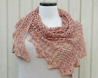 Large triangle shawl
