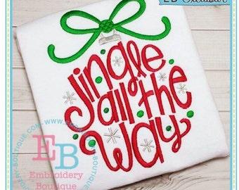Jingle All the Way-Christmas Shirt-Holiday Shirt