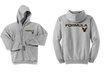 Formula Boats Ash Grey Hoodie Sweatshirt