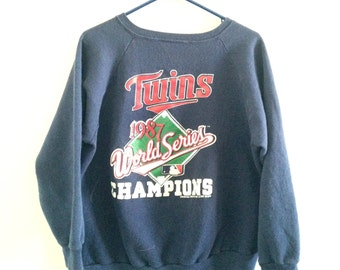 Minnesotta Twins 1987 World Series Sweatshirt