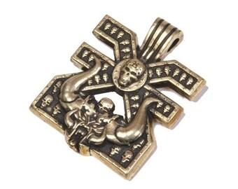 Warhammer 40000 Mark of Khorne pendant