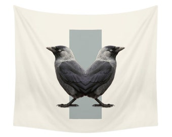 Birds Tapestry - Double Animals