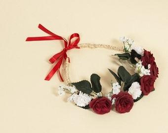 Crown of flowers - Hélène