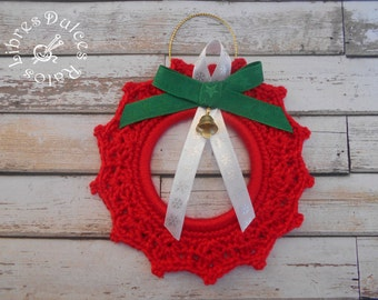 Crochet ornament for the Christmas tree – crochet for Christmas tree ornament