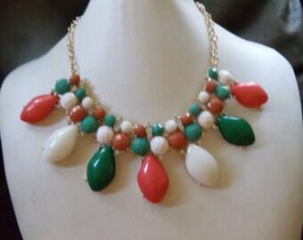 Statement necklaces vintage Anouschka
