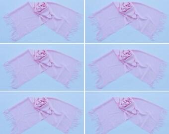 6 LIGHT PINK PASHMINA,pashmina scarf,pashmina shawl,bridesmaid shawls,Pashmina Wedding,scarf, shawl, scarves 013