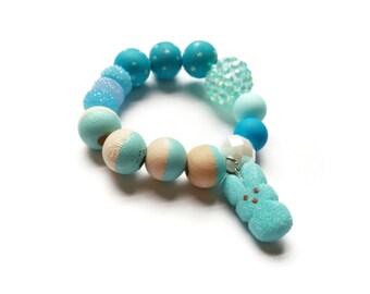 Blue Bunny Peep Bracelet