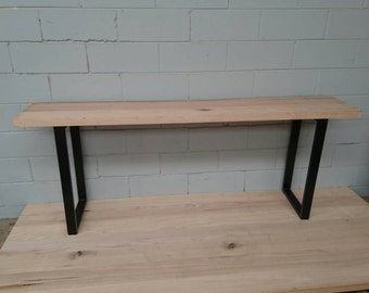 Reclaimed timber console tables