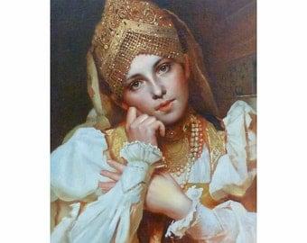 Contemporary Russian Portrait of Woman