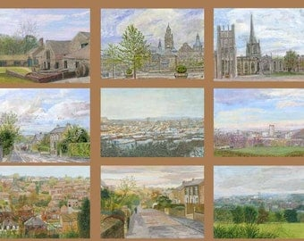 Images of Sheffield - 9 card collection with envelopes
