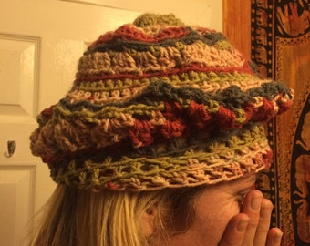 Hippy winter hat