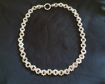 Sterling Silver Victorian Necklace Chain