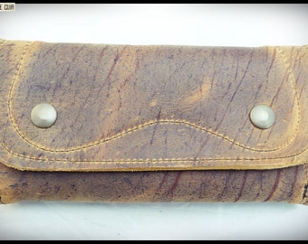 Leather tobacco pouch
