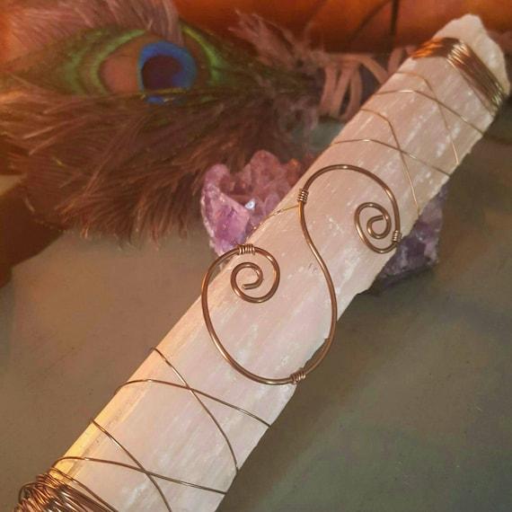 Personalized Initial Chakra Wand