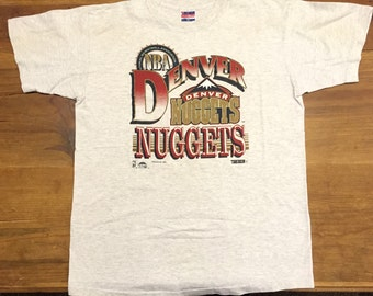 Vintage 1993 Trench Denver Nuggets T-shirt