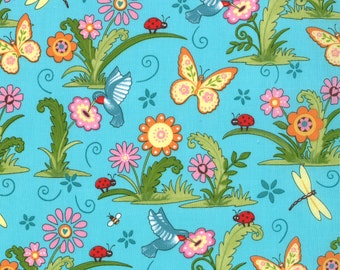 Meadow Friends by Deb Strain (19480-14) Quilting Fabric by the 1/2 Yard