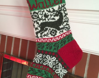 Heirloom Christmas Stocking