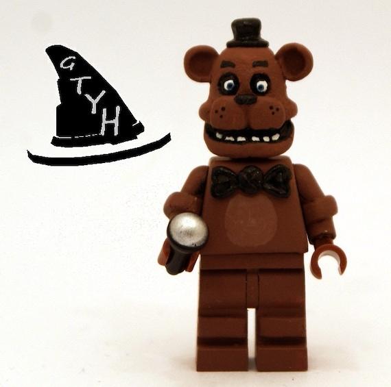 Lego 5 Nights At Freddy S Toys : Withered toy freddy fazbear custom lego by shamrockminifigures