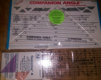EZ Quilting Compaion Angle by Darlene Zimmerman and Quickline ll