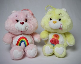 Care Bears plush, plush vintage Care Bears rainbow, cake Bears, Bears Vintage