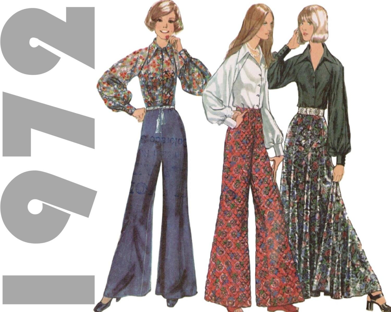 bell bottoms pattern maxi skirt pattern simplicity 5310 sz14 b
