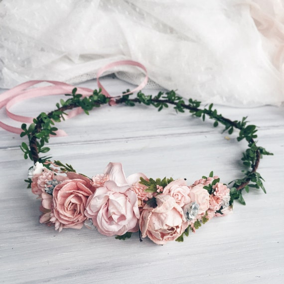 Wedding Flower Crown Suppliers : Flower crown bridal floral wedding by