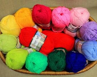BABY YARNART Knitting and Crochet Yarn of Turkeу 100% AKRİLİK 50 gr - 150 m
