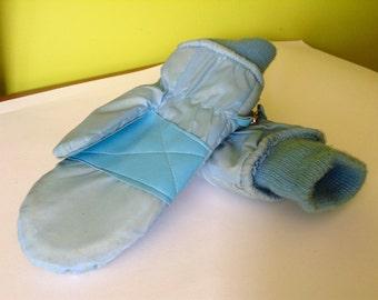 Vintage Blue Ski Gloves Sunski