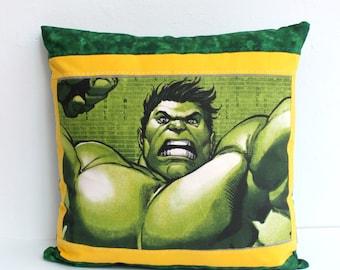 Hulk Decorative Pillow : Avengers pillow Etsy