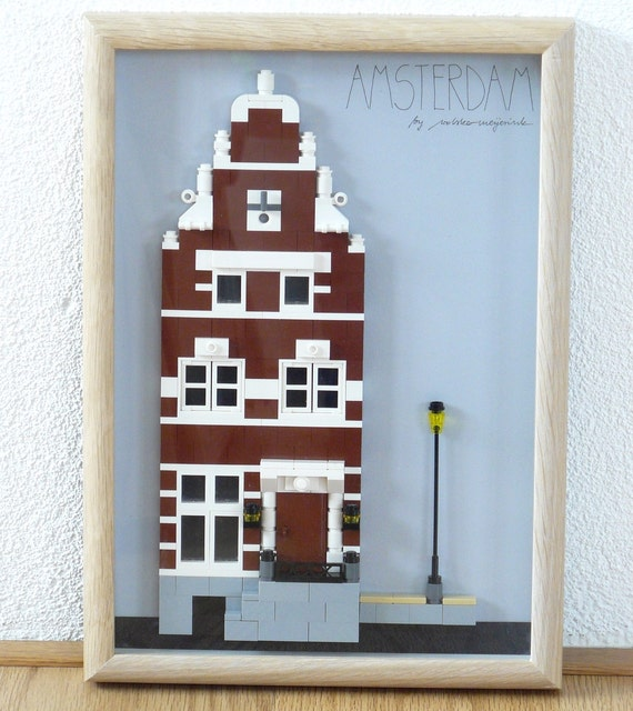 Amsterdam canal house lego design original design for Lego house original