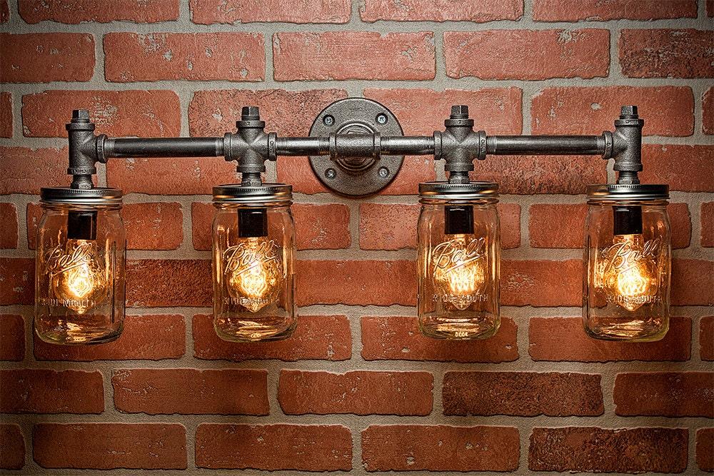 Industrial Lighting Lighting Mason Jar Light