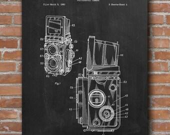Film Camera Patent, Retro Camera Poster, Photographer Gift, Home Decor, Patent Poster - DA0529