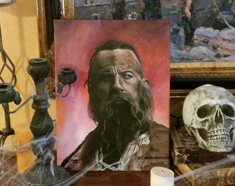 The Last Witch Hunter - Print of Original Painting