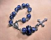Finger rosary, Catholic rosary, Single decade rosary, Rosaries, Prayer beads, Catholic, Roman Catholic