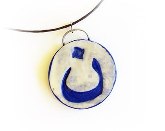 Nasrani Arabic Christian symbol necklace