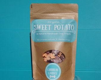 Organic Dehydrated Sweet Potato Dog Treats 2.5 oz