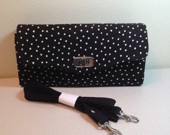 Necessary Clutch Wallet black dot