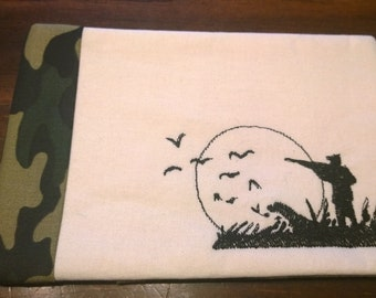 Duck hunting Quilted Mug Rug