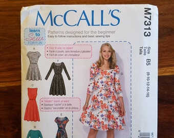 McCall's Sewing Pattern  - M7313 B5