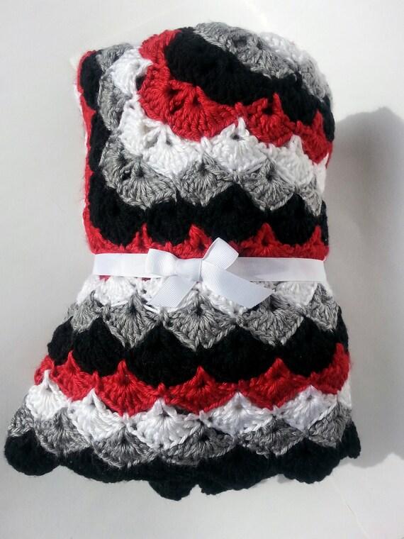 Items Similar To Afghan Throw Blanket Crocheted Afghan