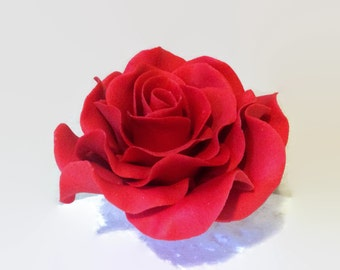 "3.5"" Red Rose"