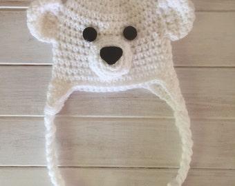 Bear Earflap Beanie