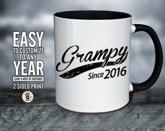 Best Grampy Ever, Father's Day - Grampy    Christmas gift . Grampy  gift idea . Grampy  Since mug, Grampy  gift , Grampy