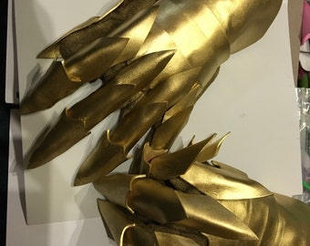 Foam dragon Gauntlets