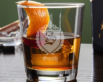 Oxford Custom Lowball Glass - Groomsmen Gift