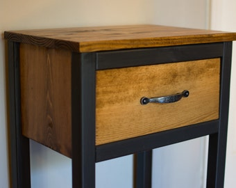 Painted & Stained Nightstands - Black Variation