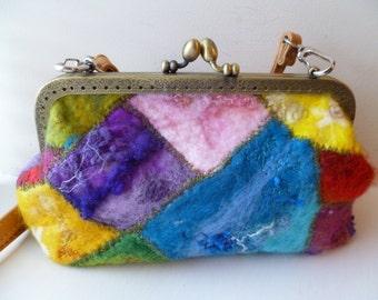 Handmade Felt Hand Bag