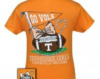 Tennessee Vols pearls tee shirt NEW