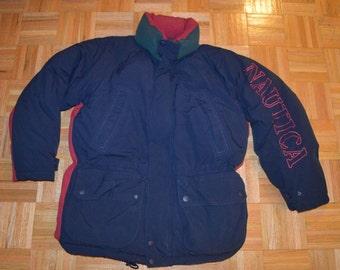 Nautica Puffer Coat Etsy